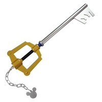Holysteed Cosplay Prop_Kingdom Hearts_Sora_Kingdom Key_Keyblade_Gold_