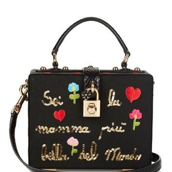 Rosary embellished box bag | Dolce & Gabbana | MATCHESFASHION.COM US