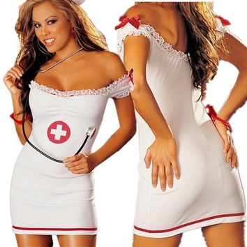 Hot Deal Cute On Sale Plus Size Sexy Uniform Exotic Lingerie [6594649539]