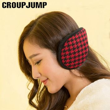 High Quality Earmuffs For Women Men Knitted Cotton Ear Warmers Earmuffs Unisex Winter Accessories Multicolor Earmuff