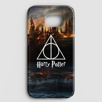 Harry Potter Deathly Hallows Dobby Samsung Galaxy S7 Edge Case