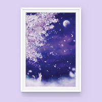 Pokemon Espeon Poster: Sanctuary, Eeveelutions, Pokemon Poster, Anime Poster, Art Print, Pokemon Art