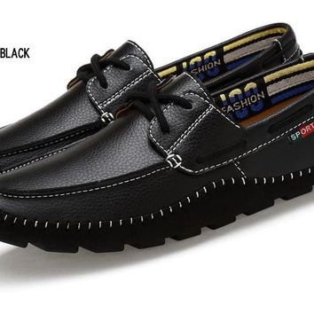 Merkmak 100% Italian Leather Mens Loafers, Large Sizes Available