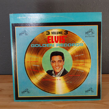 Elvis Presley / Elvis' Golden Records / Volume 3 / LP Vinyl Record Album