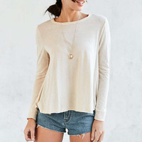 Truly Madly Deeply Swing Set Long-Sleeve Tee - Urban Outfitters