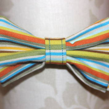 Multi-Striped Adjustable Bowtie (Baby / Infant / Toddler)