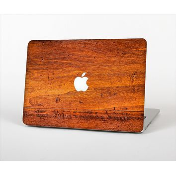 The Red Tinted WoodGrain Skin Set for the Apple MacBook Pro 13""