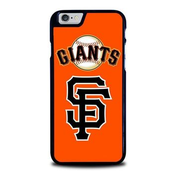 san francisco giants 3 iphone 6 6s case cover  number 1