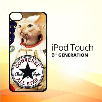 Astronaut cat CONVERSE W3097 iPod Touch 6 Case