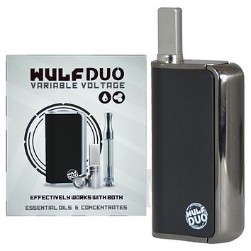 Wulf Duo 4 Temp Variable Voltage Palm Cartridge Vaporizer