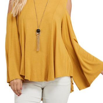Fly Away Sleeve Top