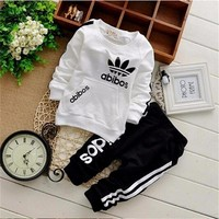 2016 Brand Clothes Sets Newborn girls Boys Autumn Children Clothing Sets Kids 2pcs clothing set suit baby shirt+pants sets