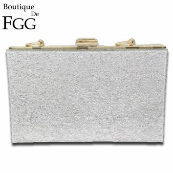 Hot Selling Lady New Fashion Acrylic Evening Bag ABS Women Clutch Bag Trunk Day Clutches Handbag Purse Wedding Party Prom Bag
