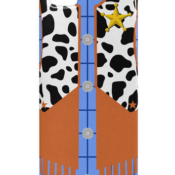 Cowboy Blue AOP iphone 5 & 5S Plastic Case All Over Print