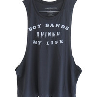 Boy Bands Ruined my Life Tank