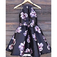 floral fit & flare dress - more colors/prints