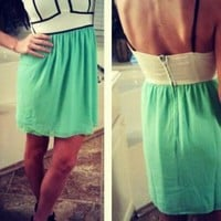 Summer Lovin' Dress in Mint