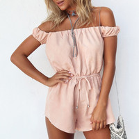 Summer Beach Sexy Women's Fashion Jumpsuit [5024157892]