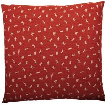 "J-Life Usagi ""Bunny"" Red Zabuton Floor Pillow"