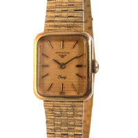 Longines Gold Bracelet Watch