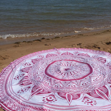 bohemain beach throw