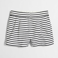 """Factory 4"""" striped pull-on short"""