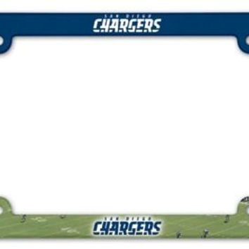 San Diego Chargers Full Color License Plate Frame