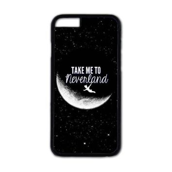 Peter Pan,Take me to neverland iPhone case,iPhone 6 case,iPhone 6 plus case,iPhone 5/5S case,iphone 5C case,iPhone 4/4S case,Personalized Case,Handmade Gift