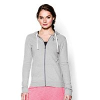 Under Armour Women's UA Charged Cotton Tri-Blend Full Zip Hoodie