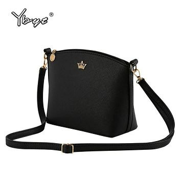 Casual Small Imperial Crown Candy Color Handbags Women Crossbody Shoulder Messenger bags