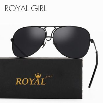 ROYAL GIRL Fashion Women Sunglasses Luxury Brand Designer Lady Summer Style Men Female Shades oculos de sol feminino SS152