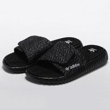 Adidas Men Women Fashion Yeezy Boost Print Slippers Sandals Shoes