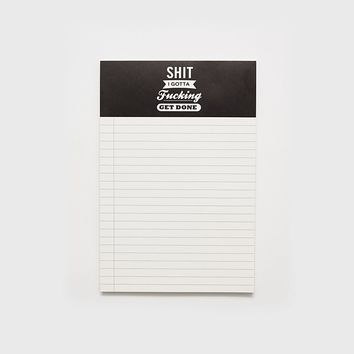 Shit I Gotta F*cking Get Done Notepad - 2-Pack