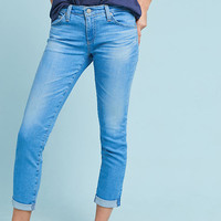 AG The Stilt Low-Rise Cigarette Cropped Jeans