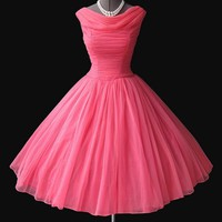 Charming Sweetheart Vintage Chiffon prom dress/evening dress