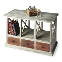 Whitaker Transitional Rectangular Console Table Multi-Color