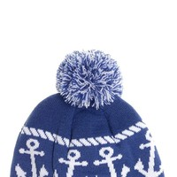 Anchors Knit Hat | Blame Betty