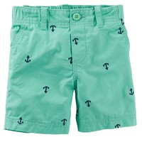 Carter's Nautical Flat-Front Twill Shorts - Boys 4-7