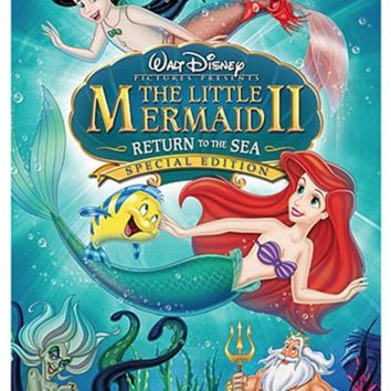 The Little Mermaid 2 DVD Release 2017 New 3-Set DVD Region 1 Special Edition