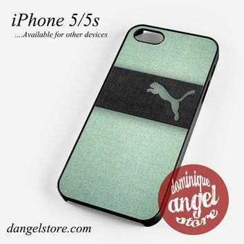 puma green texture phone case for iphone 4 4s 5 5c 5s 6 6 plus  number 1