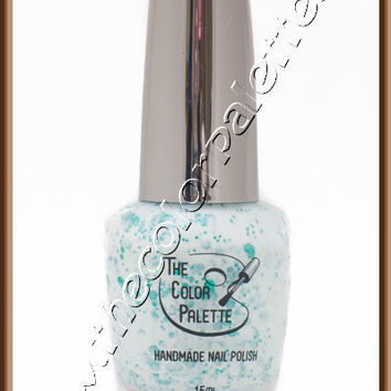SALE - Spinach A La Creme - LIMITED EDITION - Indie Nail Polish