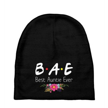 Bae Best Auntie Ever Friends Tv Show Parody Baby Beanies