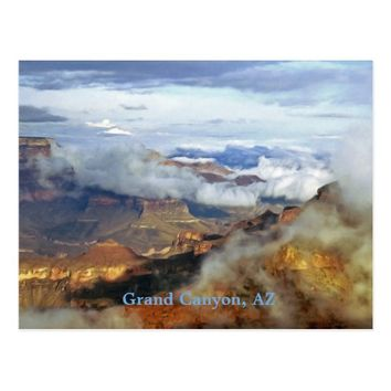 Grand Canyon, Arizona Scenic Landscape Fine Art Postcard