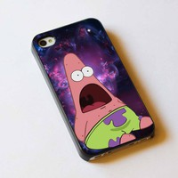 galaxi nebula and patrick For Apple Phone, IPhone 4/4S Case, IPhone 5 Case, Cover Plastic