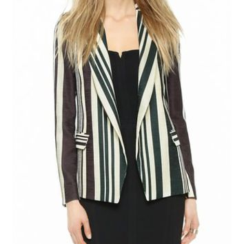 O'2nd Multi Stripe Blazer