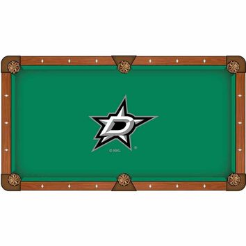 Dallas Stars Pool Table Cloth by HBS
