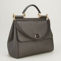 Dolce & Gabbana Logo Plaque Tote  - Biedermann En Vogue - Farfetch.com