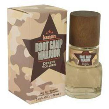 DCCKH0D Kanon Boot Camp Warrior Desert Soldier Eau De Toilette Spray By Kanon