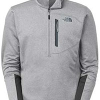 Gliks - The North Face Canyonlands Half Zip for Men in Heather Grey