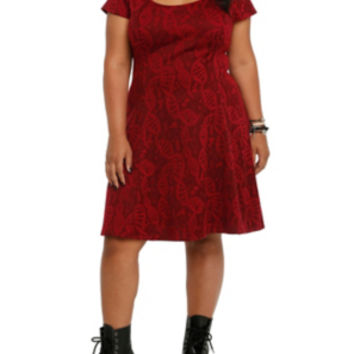 Orphan Black Fit & Flare Dress Plus